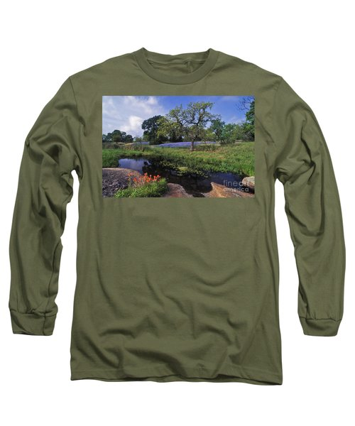 Texas Hill Country - Fs000056 Long Sleeve T-Shirt