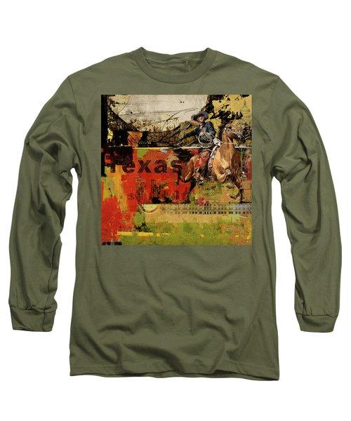 Texas Rodeo Long Sleeve T-Shirt