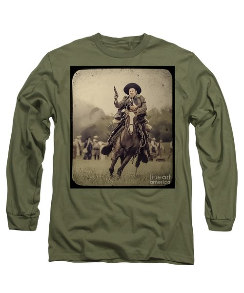 Texican Cavalry Long Sleeve T-Shirt