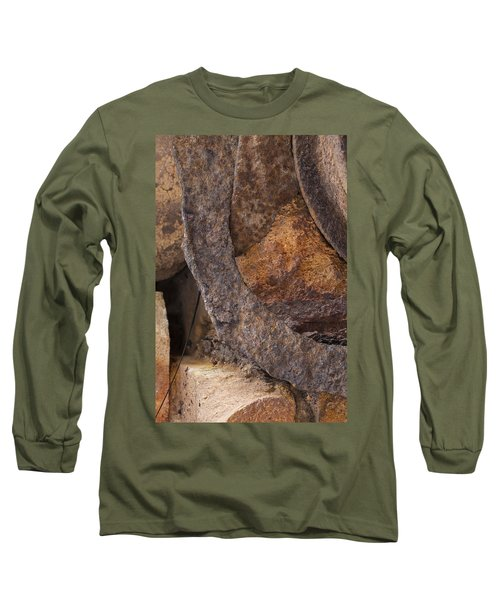 Textures 2 Long Sleeve T-Shirt by Fran Riley