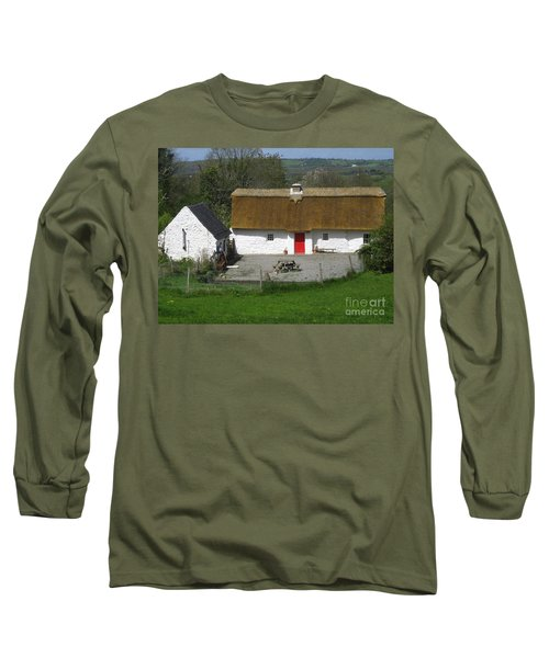 Thatched Cottage Long Sleeve T-Shirt