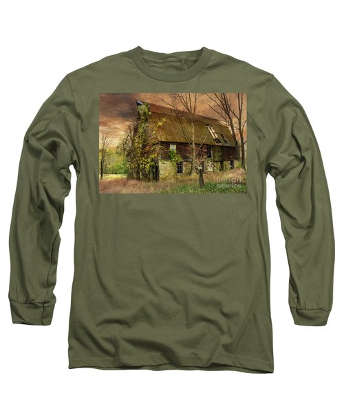 The Abandoned Barn Long Sleeve T-Shirt
