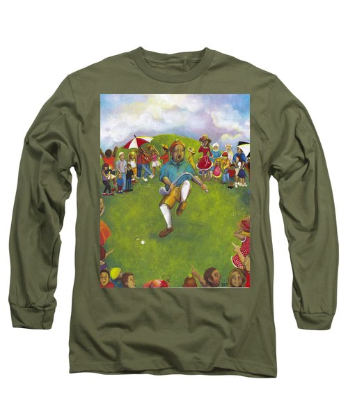 The Angry Golfer  Long Sleeve T-Shirt