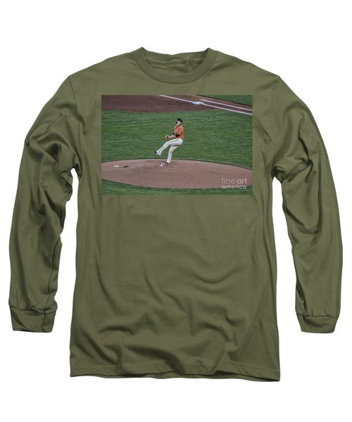 The Big Pitcher Long Sleeve T-Shirt