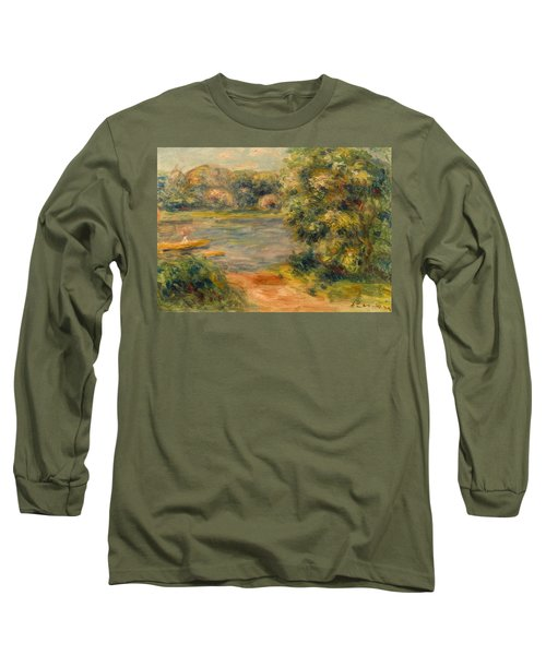 The Boat On The Lake Long Sleeve T-Shirt