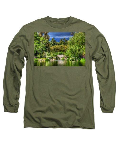 The Bridge 12 Long Sleeve T-Shirt by Richard J Cassato