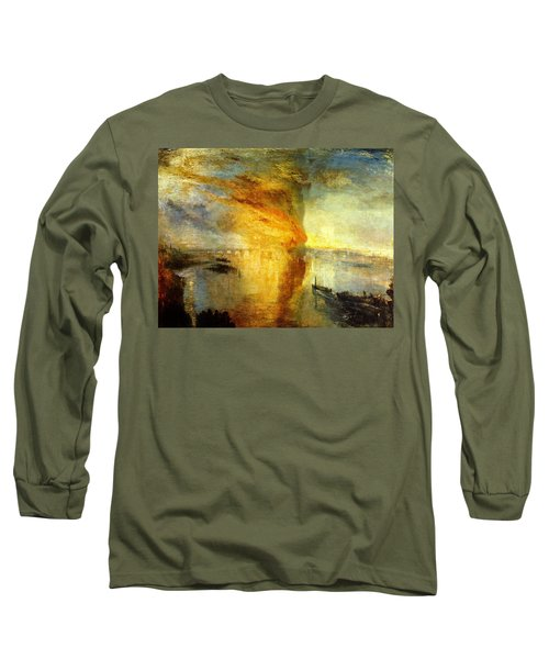 The Burning Of The Houses Of Lords And Commons Long Sleeve T-Shirt