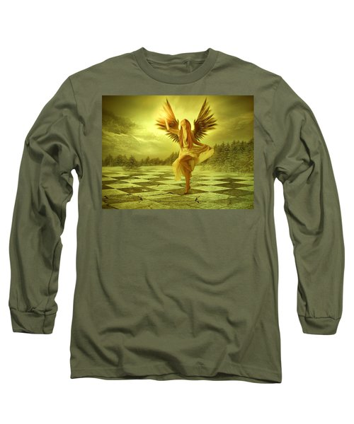 Long Sleeve T-Shirt featuring the photograph The Calling by Ester  Rogers