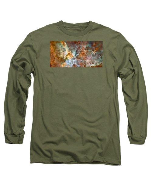 The Carina Nebula Long Sleeve T-Shirt by Nasa
