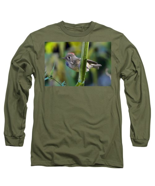 Long Sleeve T-Shirt featuring the photograph The Challenge by Gary Holmes