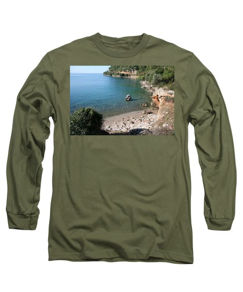 Long Sleeve T-Shirt featuring the photograph The Coast To Oren  by Tracey Harrington-Simpson