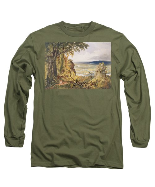 The Comuti Or Taquiare Rock Long Sleeve T-Shirt