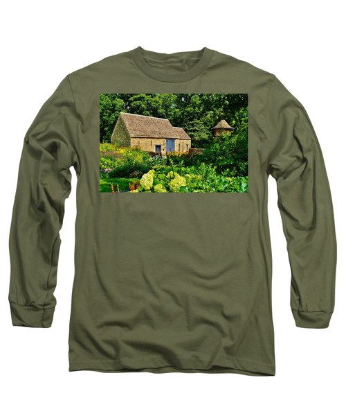 The Cotswald Barn And Dovecove Long Sleeve T-Shirt by Daniel Thompson