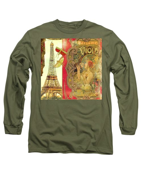 The Crickets Of Paris Long Sleeve T-Shirt