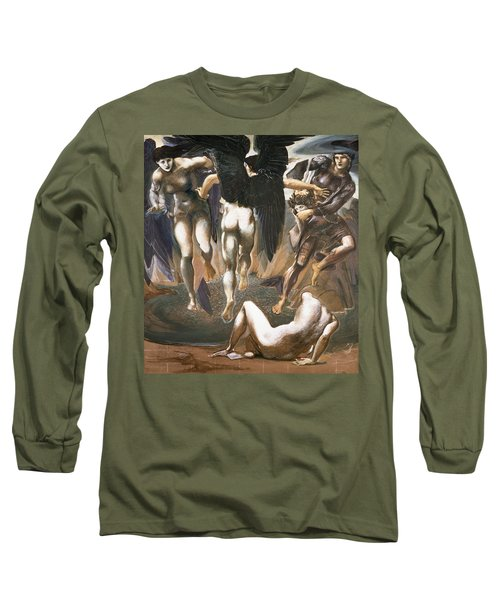The Death Of Medusa II, 1882 Long Sleeve T-Shirt by Sir Edward Coley Burne-Jones