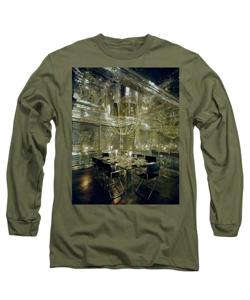 The Dining Room Of Ara Gallant's Apartment Long Sleeve T-Shirt