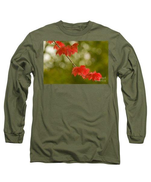 The Essence Of Autumn Long Sleeve T-Shirt by Nick  Boren