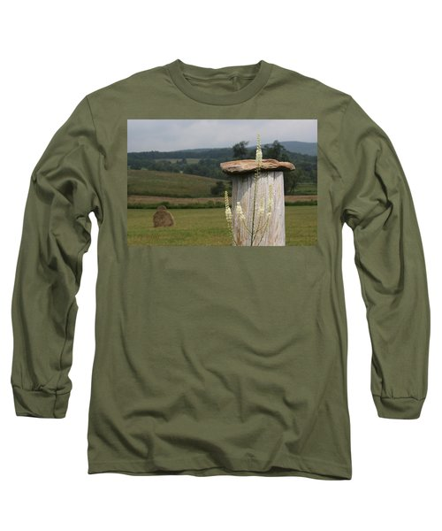 Fall Harvest Long Sleeve T-Shirt by Yvonne Wright