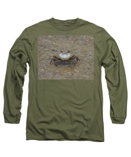 The Fiddler Crab On Hilton Head Island Long Sleeve T-Shirt