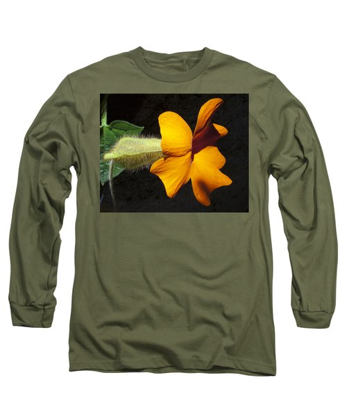 The Force That Through The Green Fuse ... Long Sleeve T-Shirt by Joe Schofield