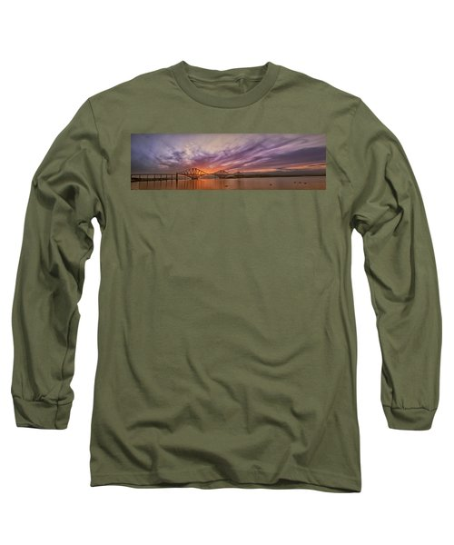 The Forth Rail Bridge Long Sleeve T-Shirt