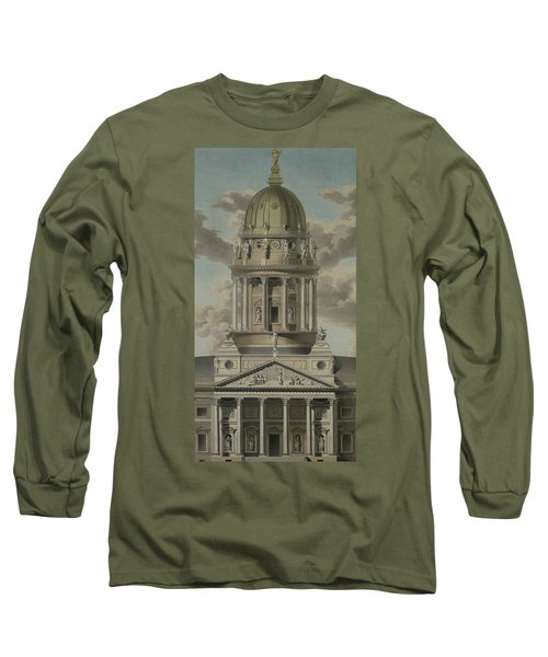 The German Cathedral On The Gendarmenmarkt Long Sleeve T-Shirt