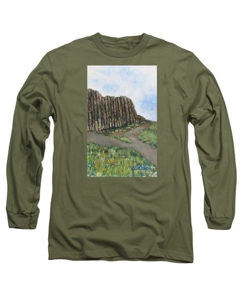 The Giant's Causeway Long Sleeve T-Shirt