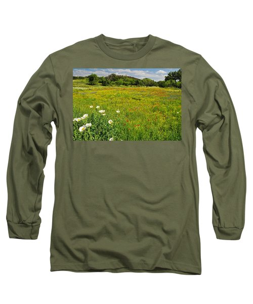 The Glory Of Spring Long Sleeve T-Shirt by Lynn Bauer