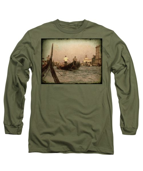 The Gondoliers Long Sleeve T-Shirt by Micki Findlay