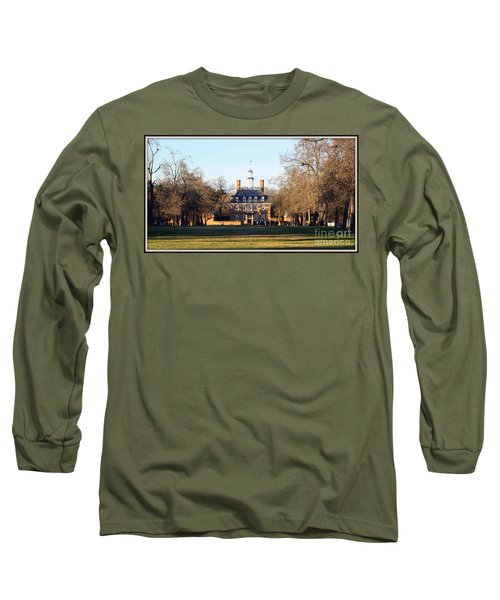 The Governor's Palace Long Sleeve T-Shirt