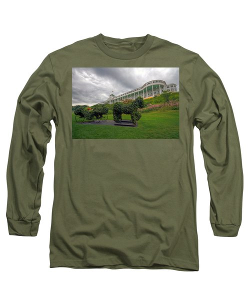 The Grand Hotel Mackinac Island Long Sleeve T-Shirt