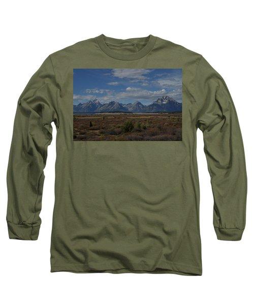 The Grand Tetons Long Sleeve T-Shirt