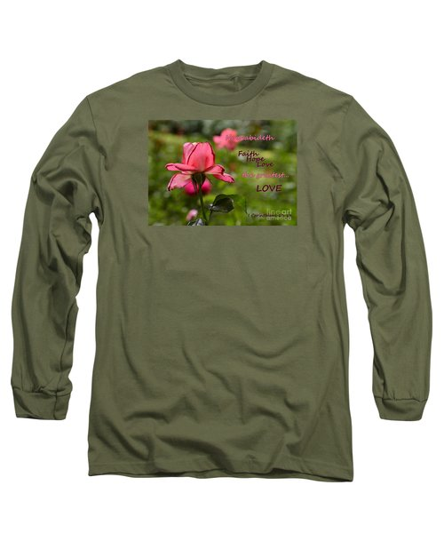 Long Sleeve T-Shirt featuring the photograph The Greatest Love by Larry Bishop