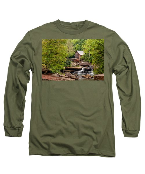 The Grist Mill Long Sleeve T-Shirt by Steve Harrington