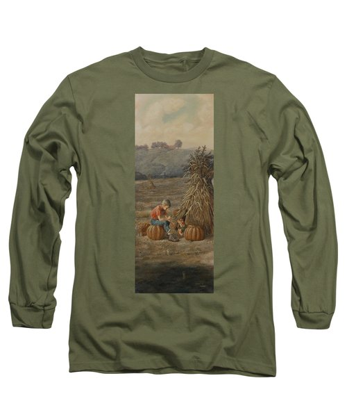 The Harvest Long Sleeve T-Shirt by Duane R Probus