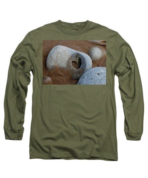 The Heart Of Omaha Beach Long Sleeve T-Shirt