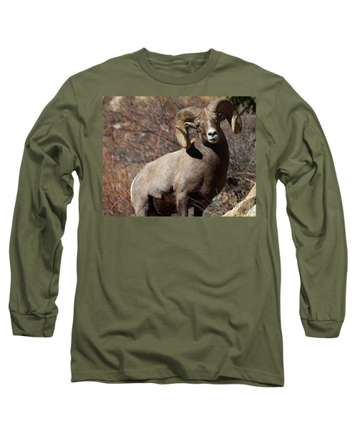 The High And Mighty Long Sleeve T-Shirt by Jim Garrison
