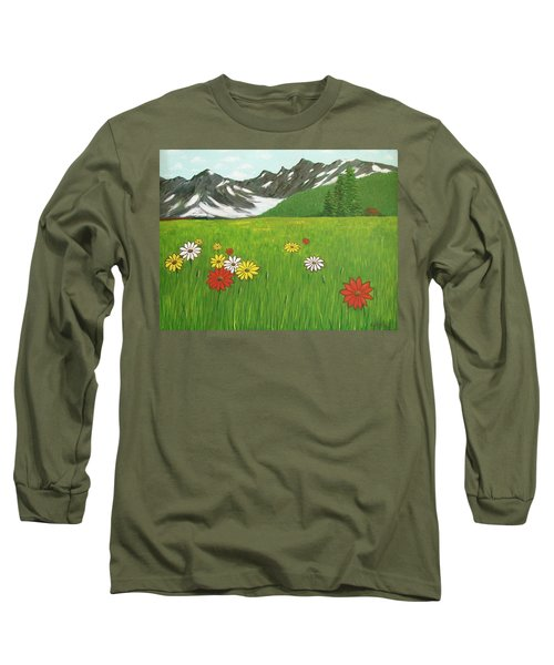 The Hills Are Alive With The Sound Of Music Long Sleeve T-Shirt