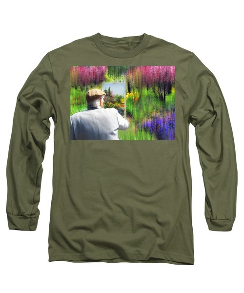 The Impressionist Painter Long Sleeve T-Shirt