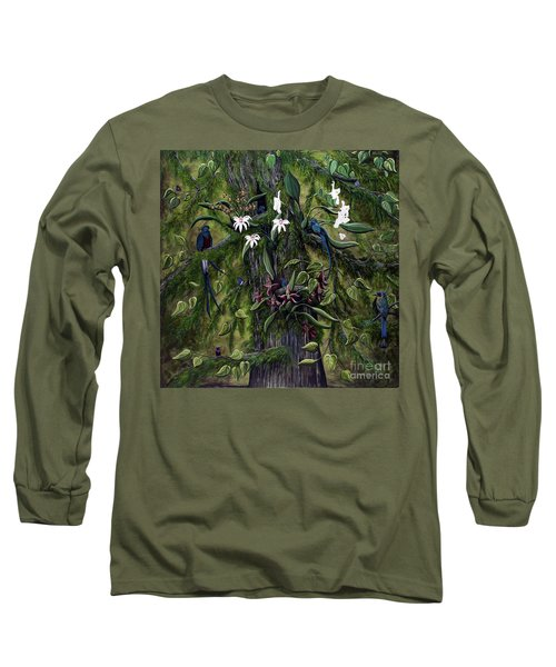 The Jungle Of Guatemala Long Sleeve T-Shirt