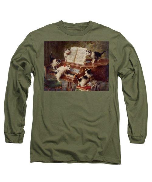 The Kittens Recital Long Sleeve T-Shirt