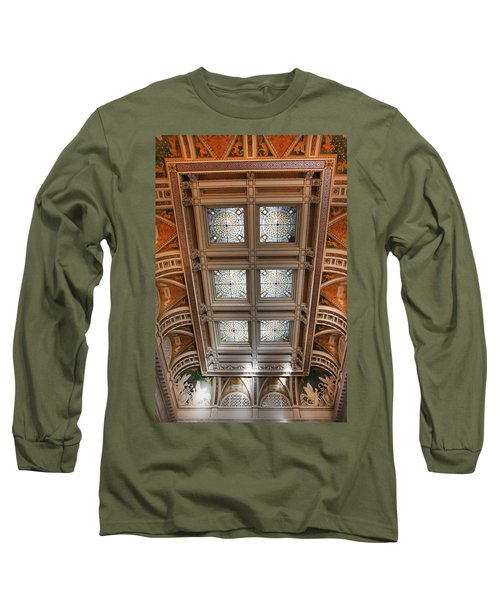The Library Of Congress Long Sleeve T-Shirt
