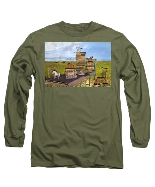 The Library Your Local Treasure Long Sleeve T-Shirt