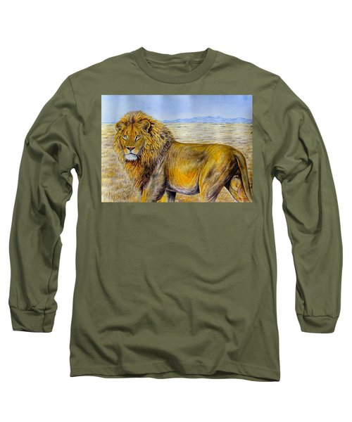 The Lion Rules Long Sleeve T-Shirt