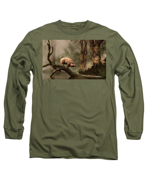 The Lost Pig Long Sleeve T-Shirt