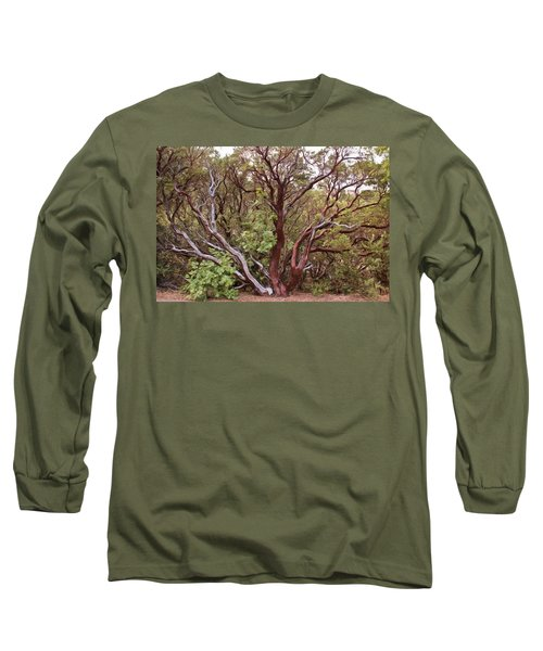 The Manzanita Tree Long Sleeve T-Shirt