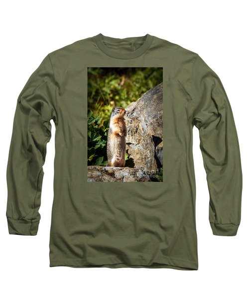 The Marmot Long Sleeve T-Shirt by Robert Bales