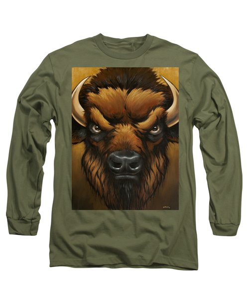 The Mighty Bison Long Sleeve T-Shirt