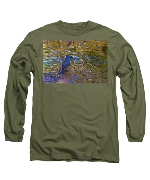 Long Sleeve T-Shirt featuring the photograph The Naiad by Gary Holmes