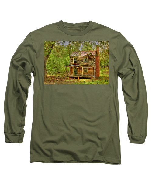 The Old Home Place Long Sleeve T-Shirt by Dan Stone